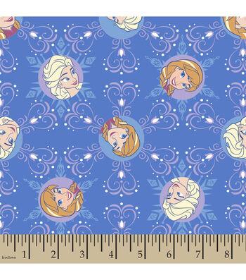 "Disney® Frozen Corduroy Fabric 43""-Winter Magic Snowflake"