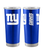 New York Giants 20 oz Insulated Stainless Steel Tumbler, , hi-res