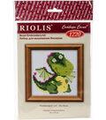 RIOLIS Counted Cross Stitch Kit 4\u0022X4\u0022-Little Dragon