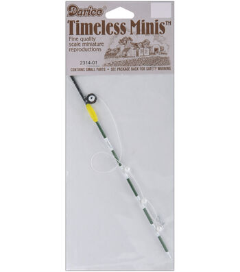 Darice Timeless Miniatures-Fishing Pole