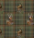 Realtree Moose Plaid Allover Cotton Fabric
