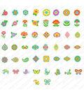 Cricut® Digital Cartridge-Florals Embellished