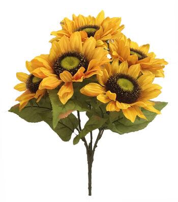 Blooming Autumn 20'' Sunflower Bush-Yellow