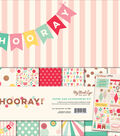 My Mind\u0027s Eye Paper & Accessories Kit 12\u0022X12\u0022-Hooray