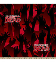 "The Walking Dead Fleece Fabric 59""-Zombie Arms, , hi-res"