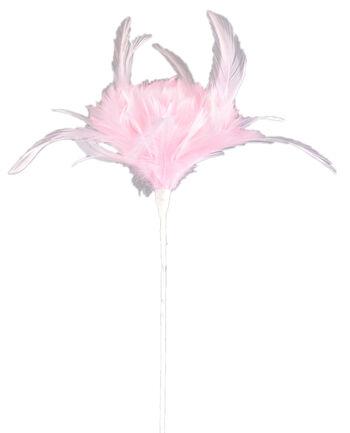 """Bloom Room 21"""" Open Tulip Hackle-Light Pink"""
