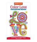 Adult Coloring Book-Design Originals Color Love