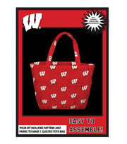 University of Wisconsin Badgers Tote Kit, , hi-res
