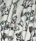 Home Essentials™ Print Fabric 45\u0027\u0027-Pups on Cream