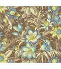 Tommy Bahama Print Fabric 54\u0022-Botanical Glow/Nutmeg