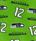 Seattle Seahawks Fleece Fabric 58\u0022-Green