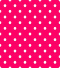 Fabric Central Cotton Fabric-Dot Pink