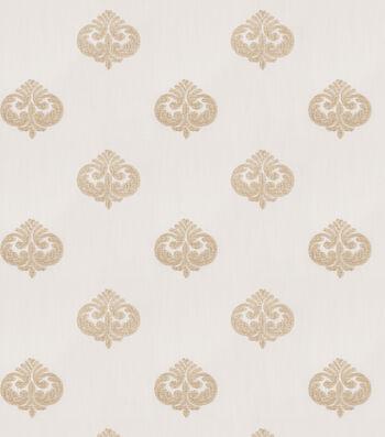 "Eaton Square Print Fabric 49""-Reilly/Spun Gold"