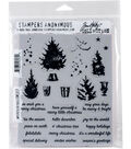 Stampers Anonymous® Tim Holtz® Cling Stamps-Watercolor Trees
