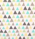 Doodles Cotton Fabric 57\u0022-Triangles