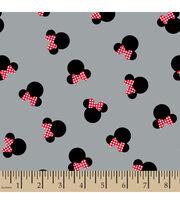 "Disney® Minnie Mouse Cotton Fabric 43""-Minnie Mouse Head, , hi-res"