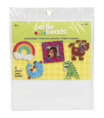 "Perler Ironing Paper 6""X6"" 6 Sheets/Pkg"