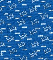 """Detroit Lions Cotton Fabric 58""""-Mini Print, , hi-res"""