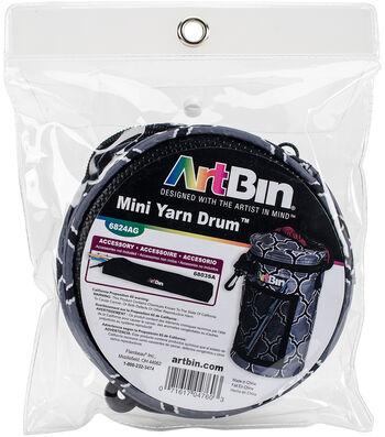 """ArtBin Mini Yarn Drum 5.7""""X9.5""""-Black & Gray"""