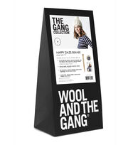Wool And The Gang Happy Daze Beanie Knit Kit-Ivory White, , hi-res