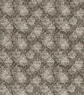 Vintage Cotton Fabric 43\u0027\u0027-Green Distressed Damask