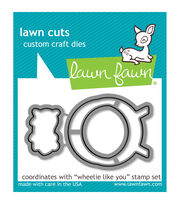 Lawn Fawn Lawn Cuts Custom Craft Die -Wheelie Like You, , hi-res