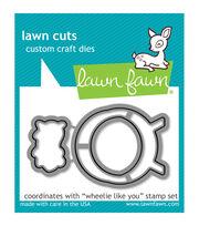 Lawn Fawn Lawn Cuts Custom Craft Die -Wheelie Like You, , hi-res