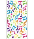 EK Success Sparkler Classic Stickers-Music Notes