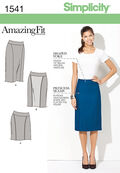 Simplicity Pattern 1541U5 16-18-20-2-Misses Skirts Pants