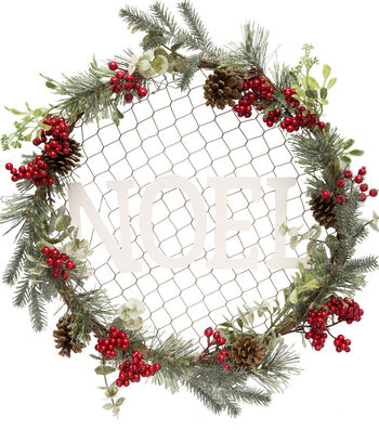 Maker's Holiday Christmas 20'' Wall Decor-Noel