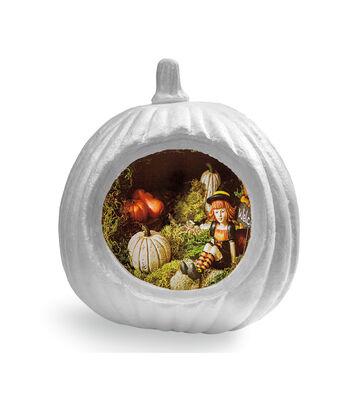 Fab Lab™ Styrofoam Diorama Pumpkin