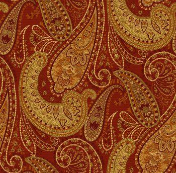 Richloom Studio® Polyester Print Fabric-Paprika Bachman