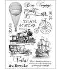 Technique Tuesday Clear Stamps 4\u0022X6\u0022-All Aboard