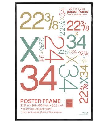 Poster Frame 22 3/8 X 34-Black