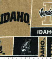 "University of Idaho Vandals Fleece Fabric 60""-Block, , hi-res"