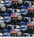 United States Navy Cotton Fabric 43\u0022-Allover