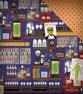 Haunted House Double-Sided Cardstock 12\u0022X12\u0022-Mad Scientist\u0027s Laboratory