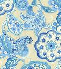 P/K Lifestyles Upholstery Fabric 54\u0022-Artist Colony/Porcelain