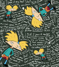 Nickelodeon® Hey Arnold Cotton Fabric 43\u0022-Thoughts
