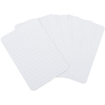 """Project Life 4""""X6"""" Lined Cards 100/Pkg-"""
