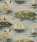 Home Decor 8\u0022x8\u0022 Fabric Swatch-Regal Fabrics R6169 Coastal