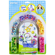 Perler Fun Fusion Fuse Bead Activity Kit-Stripes N Jewelry, , hi-res
