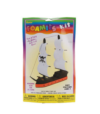 Darice Foamies 3-D Kit-Pirate Ship