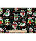 Keepsake Calico Christmas Cotton Fabric-Winter Owls