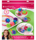 American Girl Pom Pom Hair Accessories