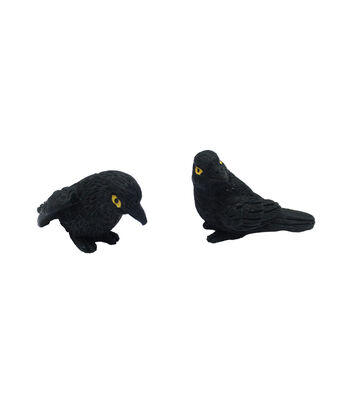 Maker's Halloween Littles 2 Pack 1.75'' Halloween Crows
