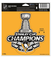 Pittsburgh Penguins 2017 Stanley Cup Champions Decal, , hi-res