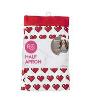 Wilton® Rosanna Pansino Half Apron-8-Bit Heart, , hi-res
