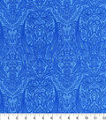 Hi Fashion Cotton Fabric-Paisley Blue