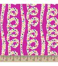 Springmaid Premium Cotton Fabric 44\u0022-Loop Floral